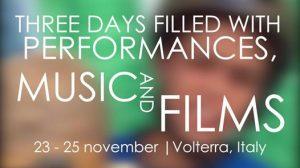 Festival Teatro di Nascosto a Volterra: 20 anni di teatro reportage