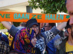"""Χριστουγεννιάτικη Ολλανδική κινητοποίηση: """"εμείς τους θέλουμε στην πατρίδα μας"""""""