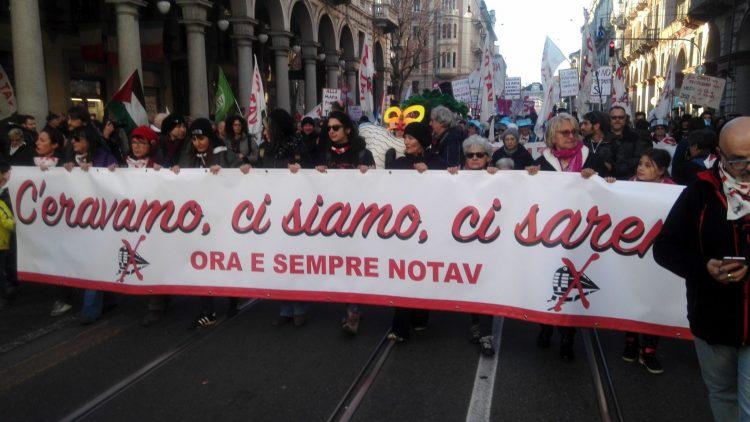 MAnifestazione No-Tav