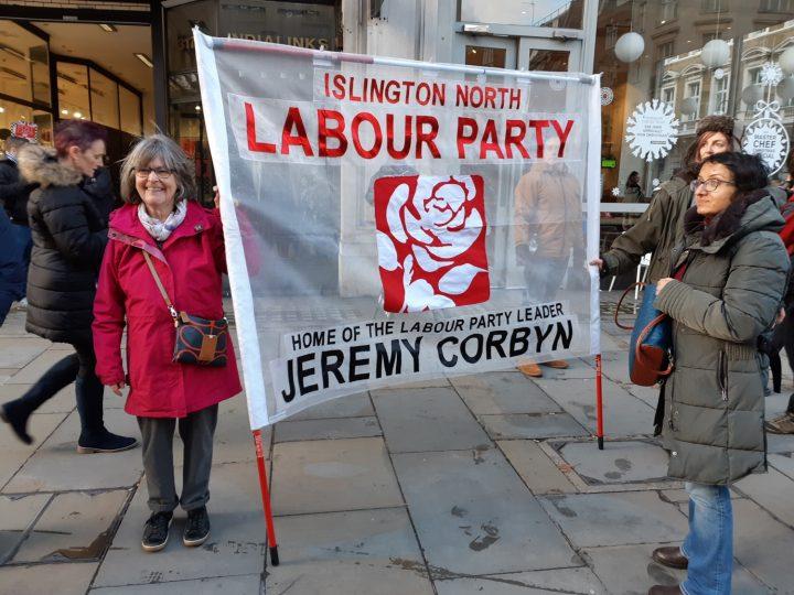 London anti-fascist march 12