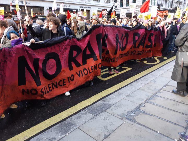 London anti-fascist march 08