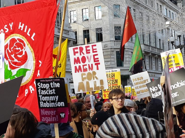 London anti-fascist march 05