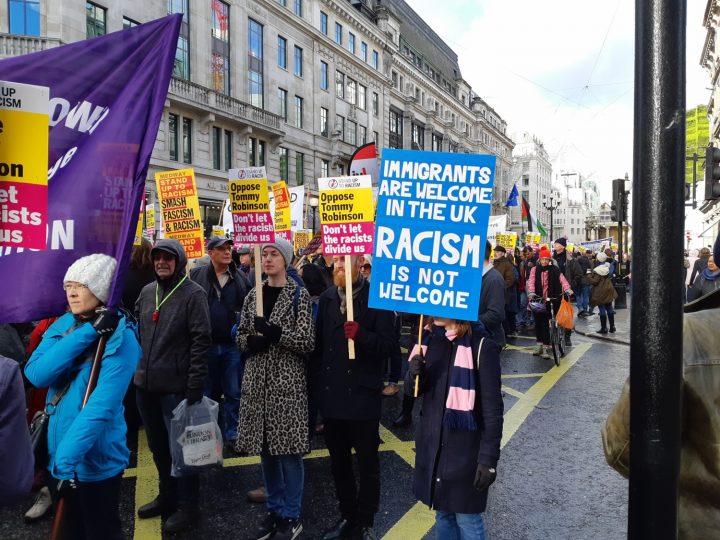 London anti-fascist march 04