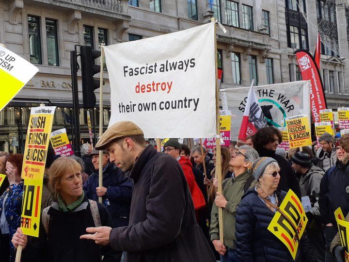 London anti-fascist march 03