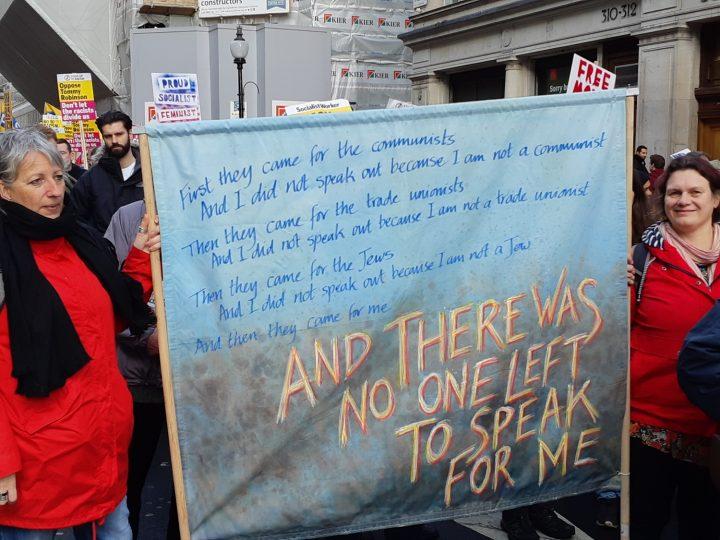 London anti-fascist march 02