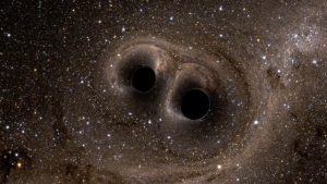 «El evento más poderoso del universo»: Qué ocurre cuando dos agujeros negros colisionan entre sí