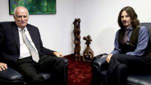 Visitando al Embajador de Cuba – «Para nosotros la solidaridad siempre ha sido muy importante»