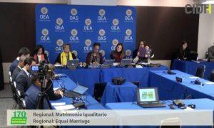 """Presidente CIDH en audiencia por Matrimonio Igualitario: """"Todos los seres humanos tienen derecho a casarse"""""""