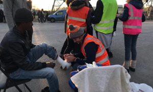 El infierno de Calais: 2000 refugiados afrontan el invierno a la intemperie