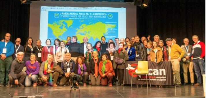 Lançamento Oficial da Segunda Marcha Mundial pela Paz e a Não-Violência em Madri
