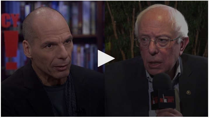 Progressive International: Varoufakis & Sanders launch new global movement against far right
