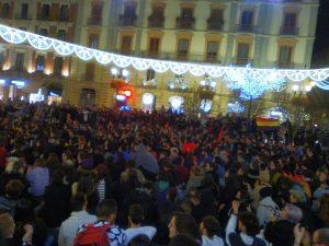 Στους δρόμους της Ανδαλουσίας ενάντια στη νίκη του ακροδεξιού κόμματος