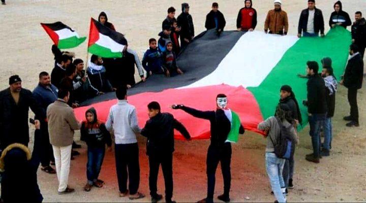 Gaza: La grande marcia, oggi, ha reso omaggio alla prima Intifada