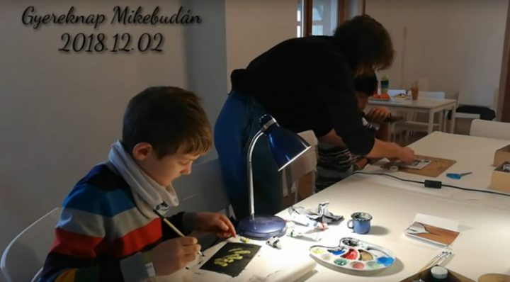 Children's Day at the Mikebuda Study and Reflection Park, Hungary