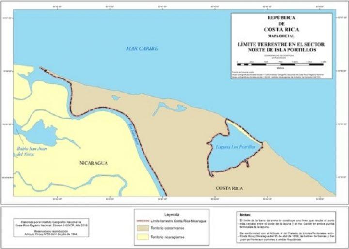A propósito de la nota diplomática enviada por Costa Rica a Nicaragua con relación al proyecto de crear una reserva en la Laguna de Portillos (denominada Harbour Head en Nicaragua)