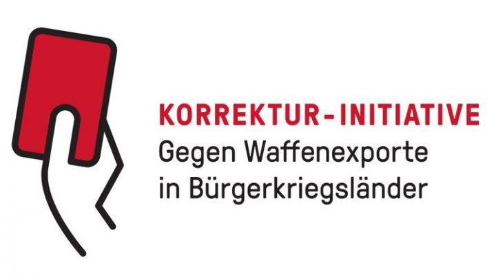 Korrektur-Initiative gegen Waffenexporte in Bürgerkriegsländer in Bern lanciert