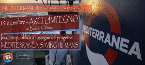 Milano, incontro di sostegno al progetto Mediterranea – Saving Humans