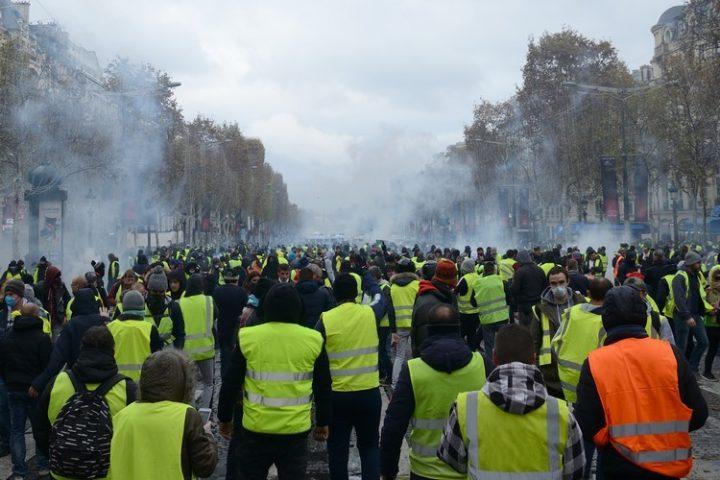 La protesta revolucionaria francesa