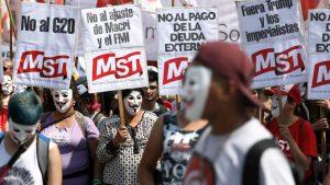Argentinien: Tausende demonstrieren gegen G20-Gipfel in Buenos Aires
