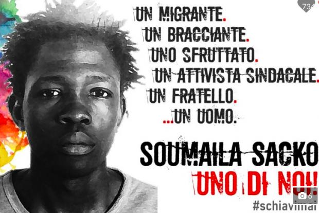 Soumaila Sacko, processo rinviato al 19 febbraio.USBsi costituisce parte civile