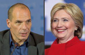 Hillary Clinton e Varoufakis: due ricette per l'immigrazione