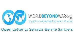 Offener Brief an US-Senator Bernie Sanders von über 100 Intellektuellen und Aktivisten aus den USA