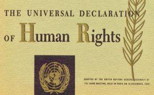 Dichiarazione Universale dei Diritti Umani: vuota senza RBUI