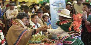 Bolivia inicia inédita exportación de 40 toneladas de quinua orgánica a China