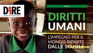 Diritti umani, l'impegno riparte dalle scuole: incontro domani alla Dire