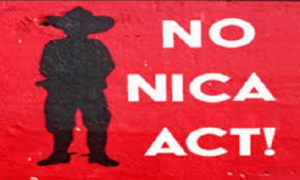 Denuncian en Argentina campaña golpista contra Nicaragua