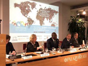 Cooperazione. Il Summit delle Diaspore riparte dalle scuole/foto/voci da Milano, con l'appello di Sara Danioko, studentessa 14enne
