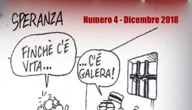 vignetta di Vauro campagna digiuno contro ergastolo