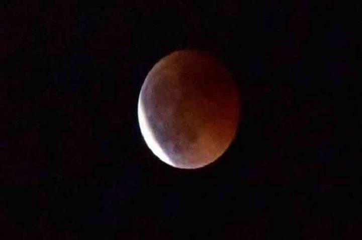 """Superluna """"sangre de lobo"""" se podrá apreciar durante la madrugada"""