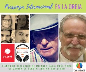 Pressenza Internacional En la Oreja 18/01/2019