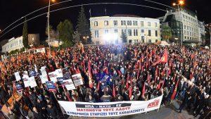 Macedonia, in Grecia il KKE scende in piazza contro l'accordo Tsipras-Zaev