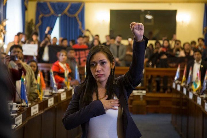 Bolivia: Salvatierra assume la presidenza del Senato risaltando il protagonismo di donne e giovani