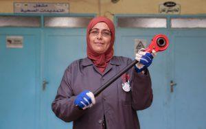 Mujeres fontaneras para luchar contra la escasez de agua en Jordania