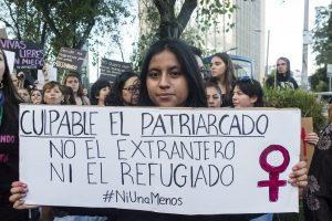 Plantón en contra de la violencia y la xenofobia en Quito, Ecuador