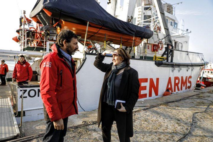 Barcellona e Open Arms si uniscono per salvare vite umane nel Mediterraneo