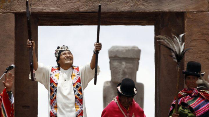 "Evo Morales denuncia la ""ingiusta condanna"" a Milagro Sala"