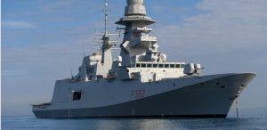 Nave del governo nel Mediterraneo