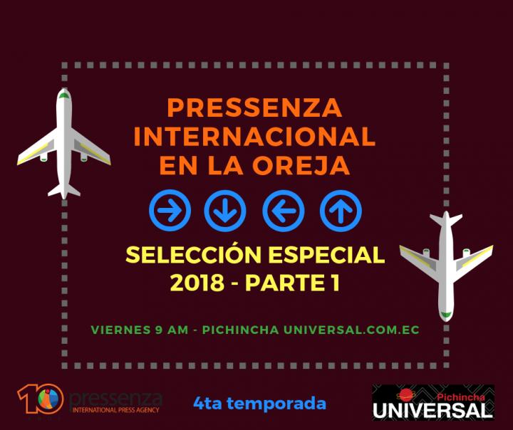 Pressenza Internacional En La Oreja – Selección Especial 2018 parte 1
