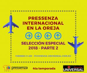 Pressenza Internacional En La Oreja – Selección Especial 2018 parte 2