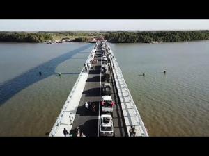 Inaugurado puente que une Senegal y Gambia