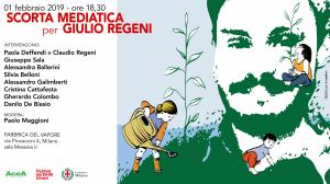 Scorta Mediatica per Giulio Regeni