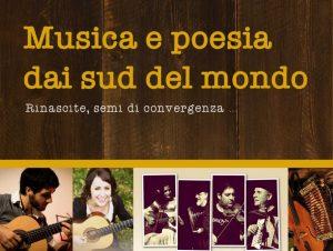 Musica e poesia dai Sud del mondo…