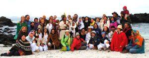 Sacerdote solar Inka Ñaupany Puma realiza peregrinaje en Chile para sanación de la Madre Tierra