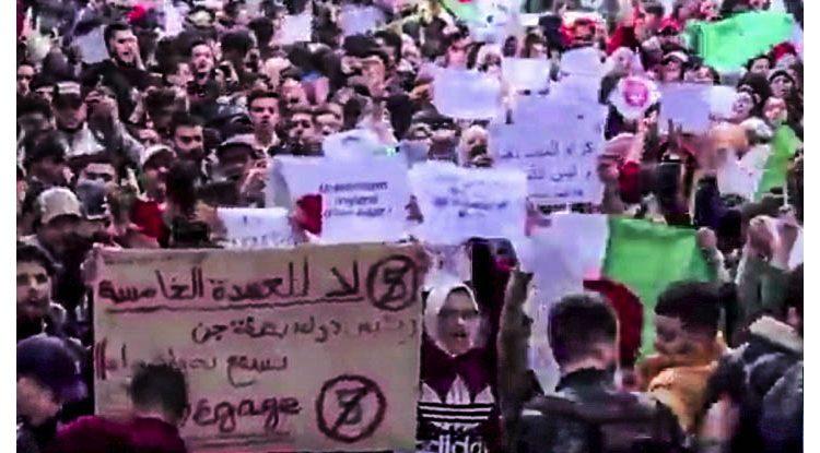 Manifestazioni Algeria