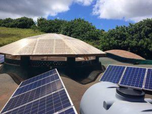 Una escuela se transforma en modelo de energía y agua en Rapa Nui