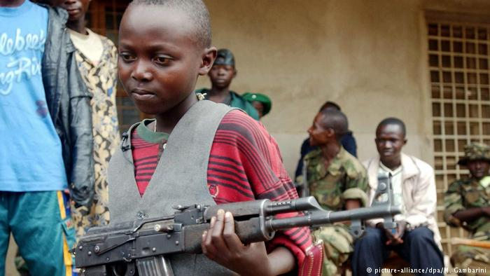 Reclutamiento de niños soldado en el mundo se duplica desde 2012